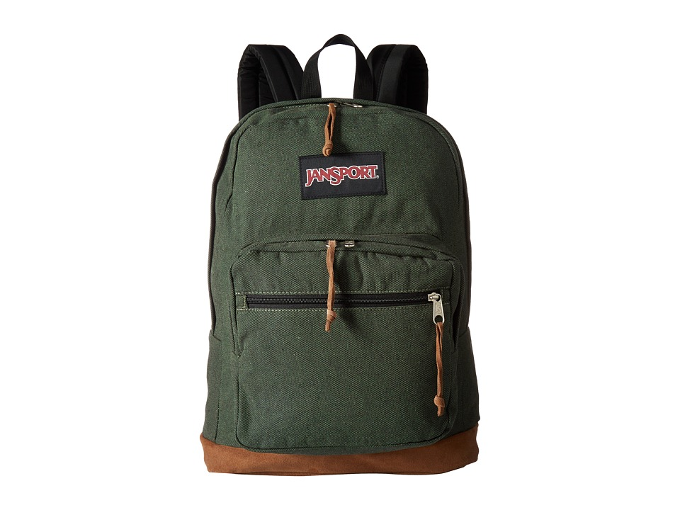 JanSport Right Pack Expressions (Muted Green) Backpack Bags