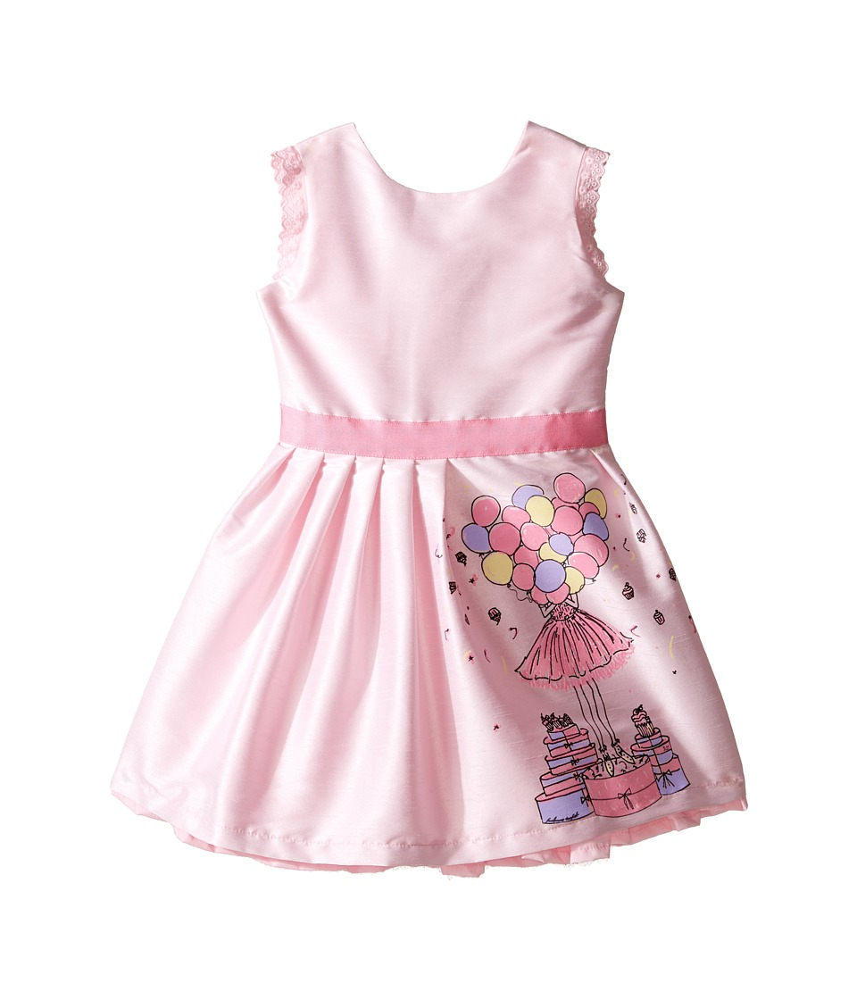 fiveloaves twofish - Birthday Balloon Dress (Toddler/Little Kids/Big Kids) (Pink) Girls Dress