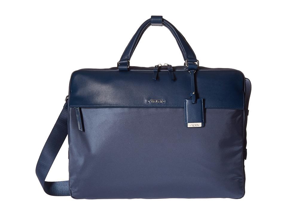 Tumi Voyageur Westport Slim Brief (Cadet) Briefcase Bags