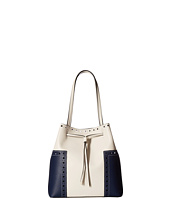 Tory Burch - Block-T Brogue Drawstring Tote