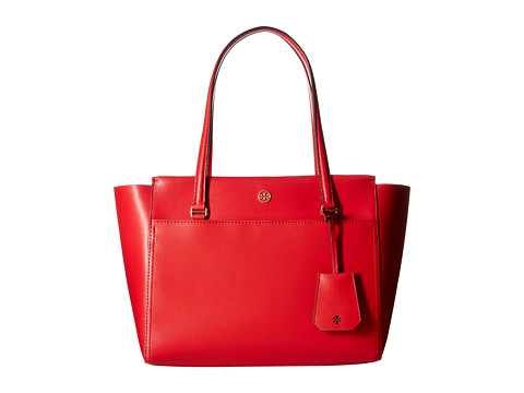 Tory Burch Parker Small Tote - Cherry Apple/Royal Navy