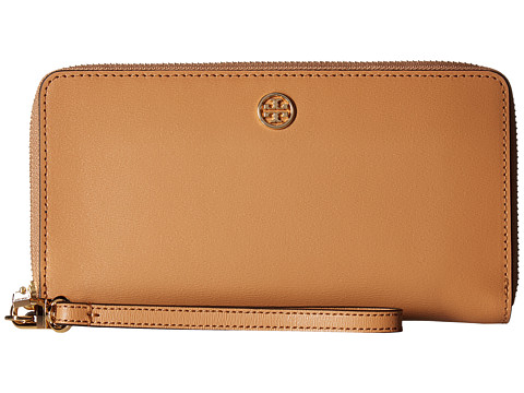 Tory Burch Parker Zip Continental Wallet - Cardamom