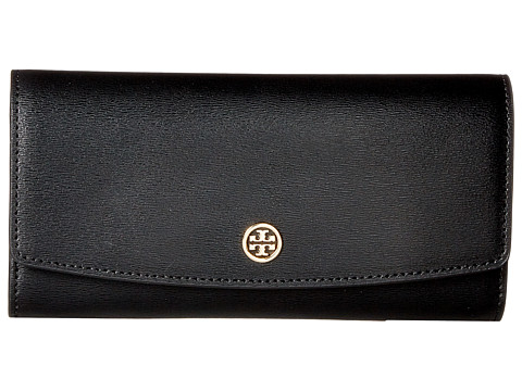 Tory Burch Parker Envelope Continental Wallet - Black