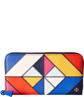 Tory Burch - Diamond Stitch Zip Continental Wallet