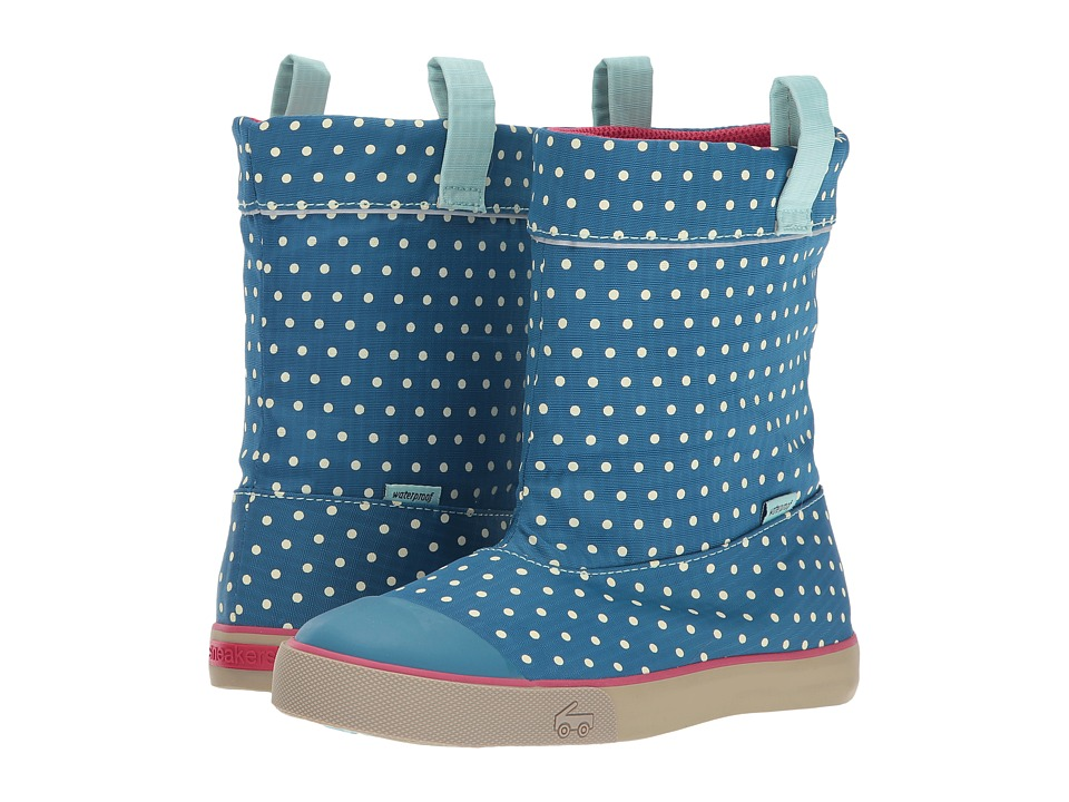 See Kai Run Kids Montlake WP (Little Kid) (Dark Blue) Girl's Shoes