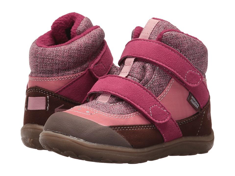 See Kai Run Kids Atlas WP/IN (Toddler/Little Kid) (Pink) Girl's Shoes