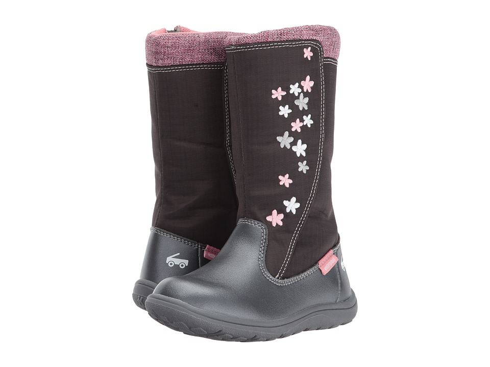 See Kai Run Kids Hallie WP (Toddler/Little Kid) (Gray) Girl's Shoes