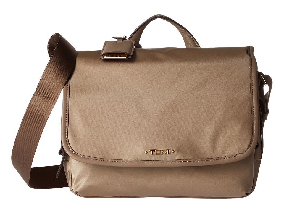 Tumi Voyageur Small Lola Messenger (Khaki) Messenger Bags