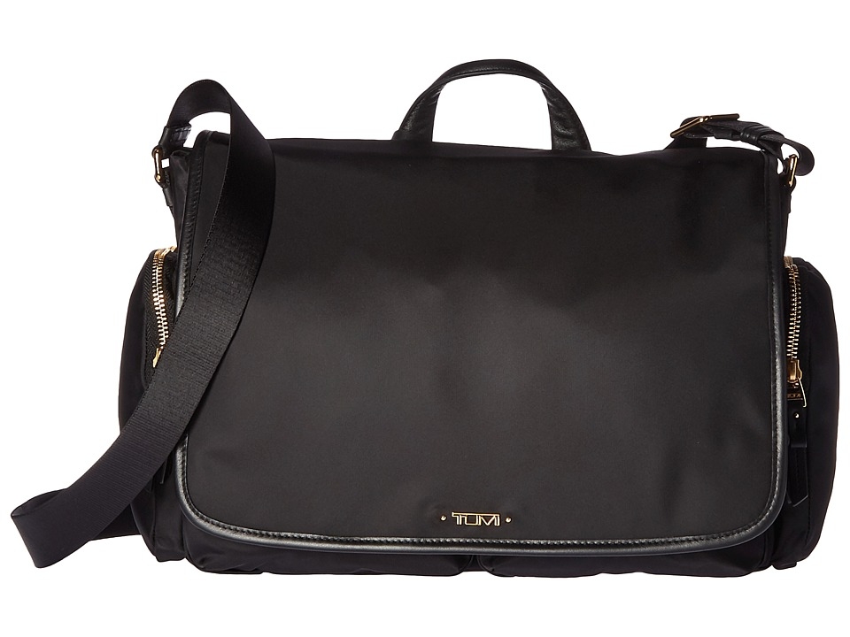 Tumi Voyageur Lola Messenger (Black) Messenger Bags