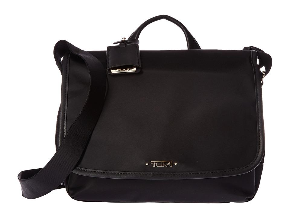 Tumi Voyageur Small Lola Messenger (Black) Messenger Bags