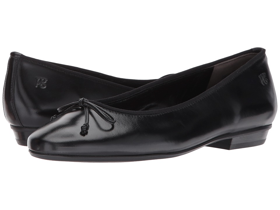 Paul Green Emile Ballet (Black Leather) Women