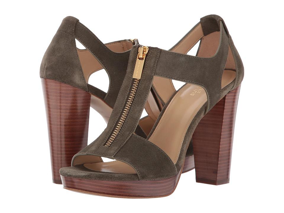 MICHAEL Michael Kors Berkley Sandal (Olive) Women