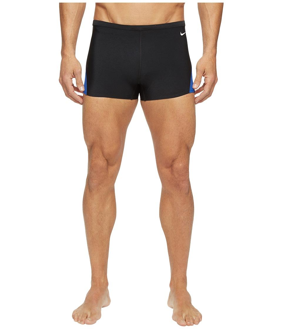 Nike - Surge Color Block Poly Square Leg Brief (Game Royal) Men's Swimwear