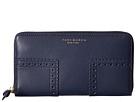 Tory Burch - Block-T Brogue Zip Continental Wallet