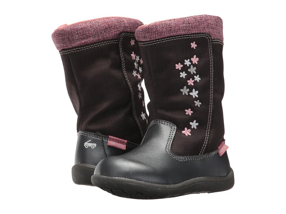 See Kai Run Kids Hallie WP (Toddler) (Gray) Girl's Shoes