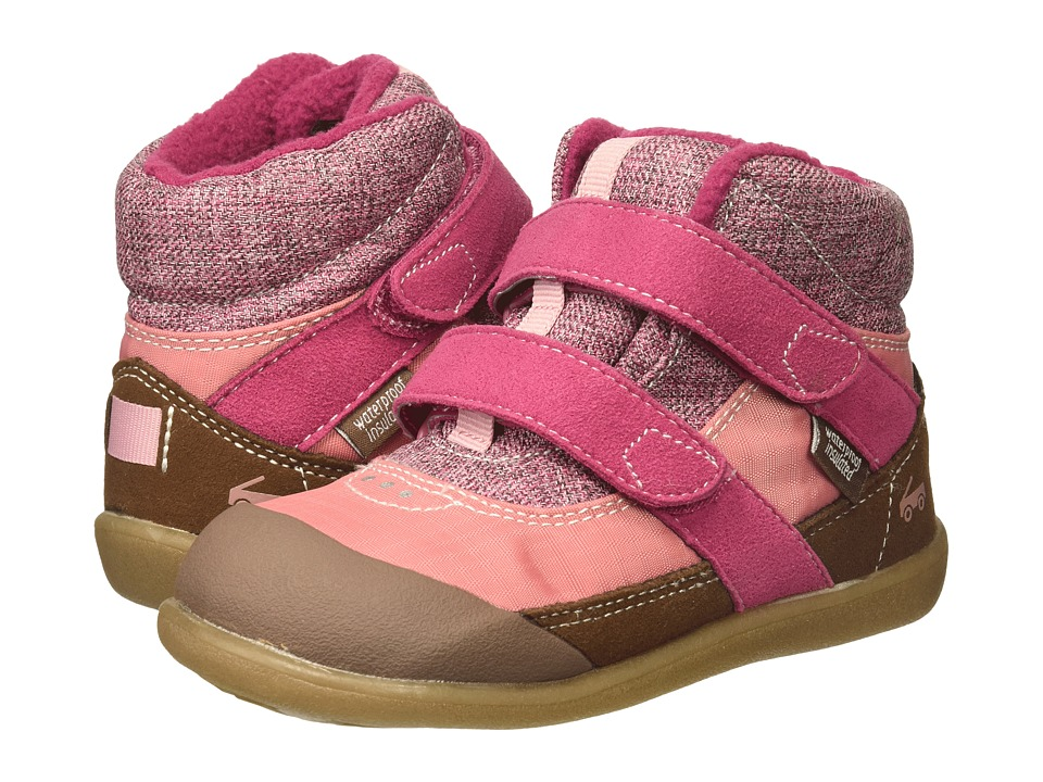 See Kai Run Kids Atlas WP/IN (Little Kid) (Pink) Girl's Shoes