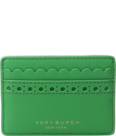 Tory Burch - Block-T Brogue Slim Card Case