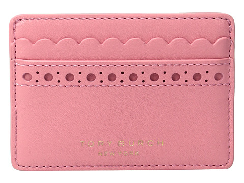 Tory Burch Block-T Brogue Slim Card Case