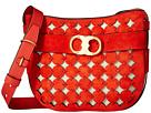 Tory Burch - Gemini Link Suede Cut Out Crossbody Bag