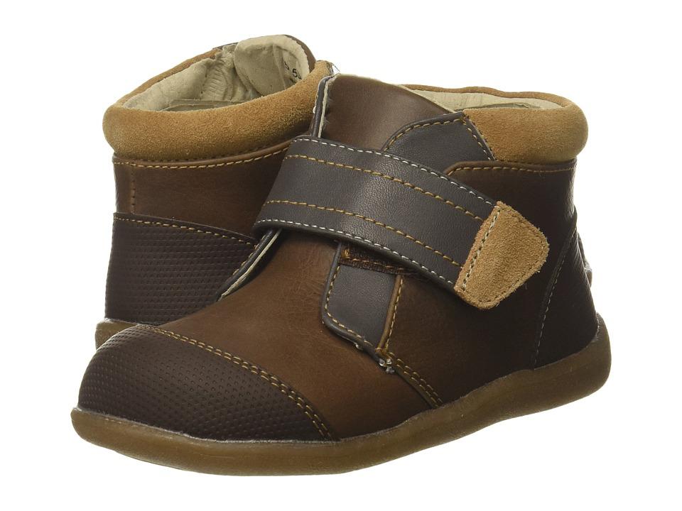 See Kai Run Kids Sawyer II (Toddler/Little Kid) (Brown) Boy's Shoes