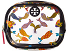 Tory Burch - Fish Round Cosmetic Case