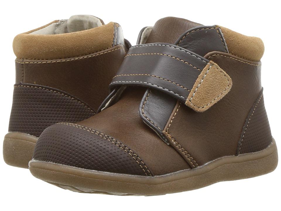 See Kai Run Kids Sawyer II (Toddler) (Brown) Boy's Shoes