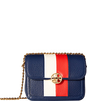 Tory Burch - Duet Chain Stripe Micro Shoulder Bag