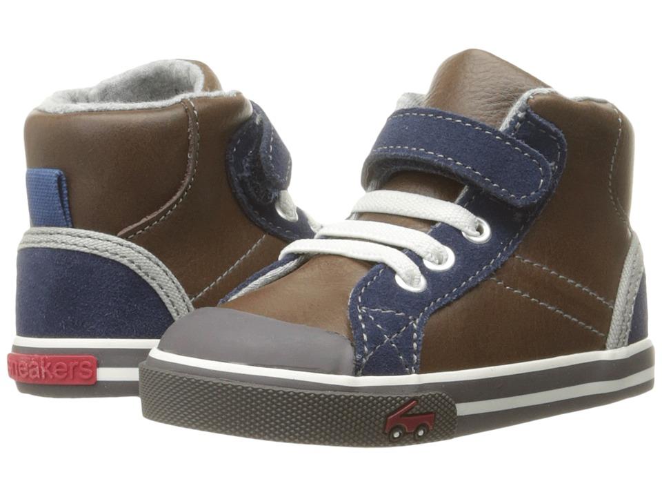 See Kai Run Kids Dane (Toddler) (Brown Leather) Boy's Shoes
