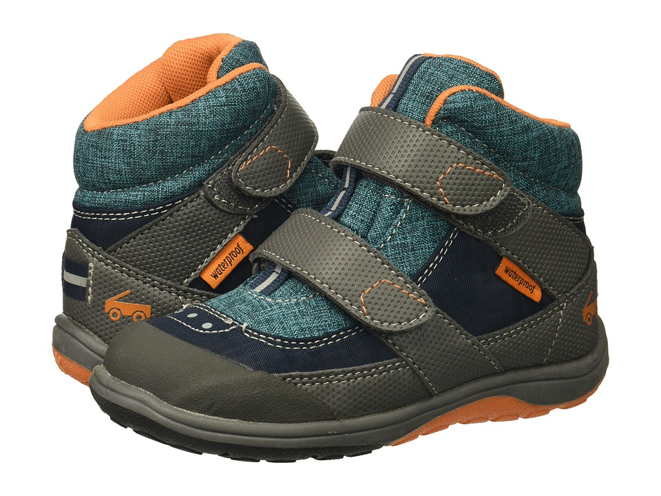 See Kai Run Kids Atlas WP (Toddler/Little Kid) (Blue) Boy's Shoes