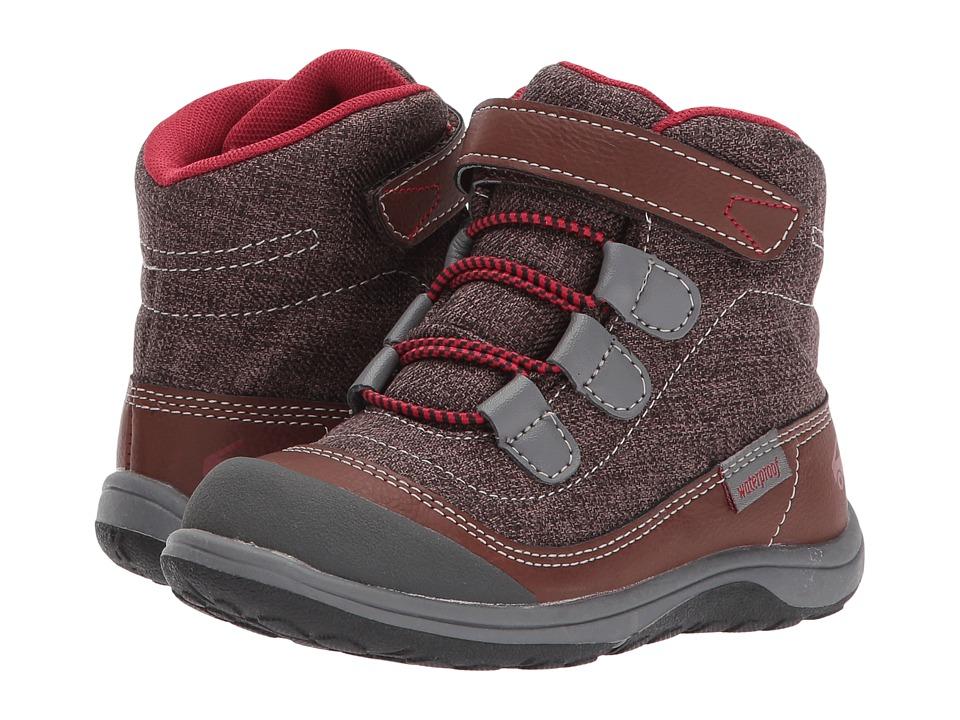 See Kai Run Kids Sam WP (Toddler/Little Kid) (Brown) Boy's Shoes
