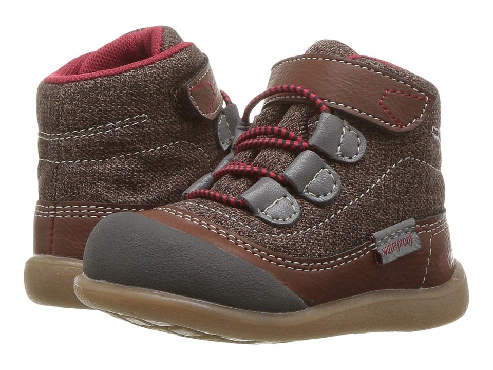 See Kai Run Kids Sam WP (Toddler) (Brown) Boy's Shoes