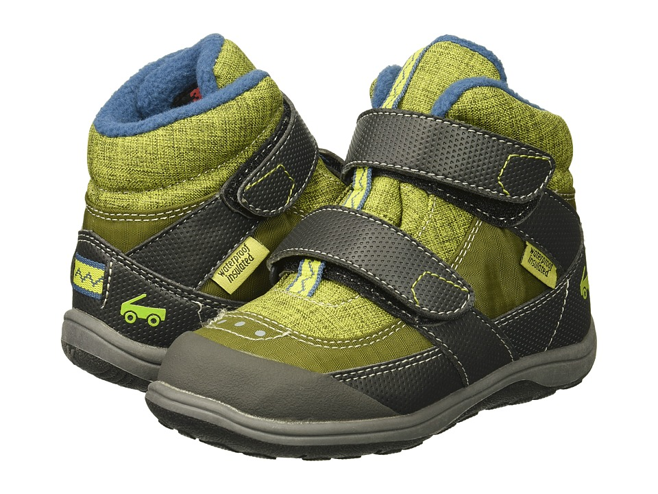 See Kai Run Kids Atlas WP/IN (Toddler) (Green) Boy's Shoes