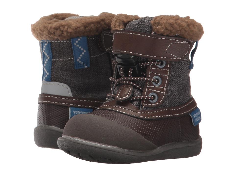 See Kai Run Kids Jack WP/IN (Toddler) (Brown) Boy's Shoes