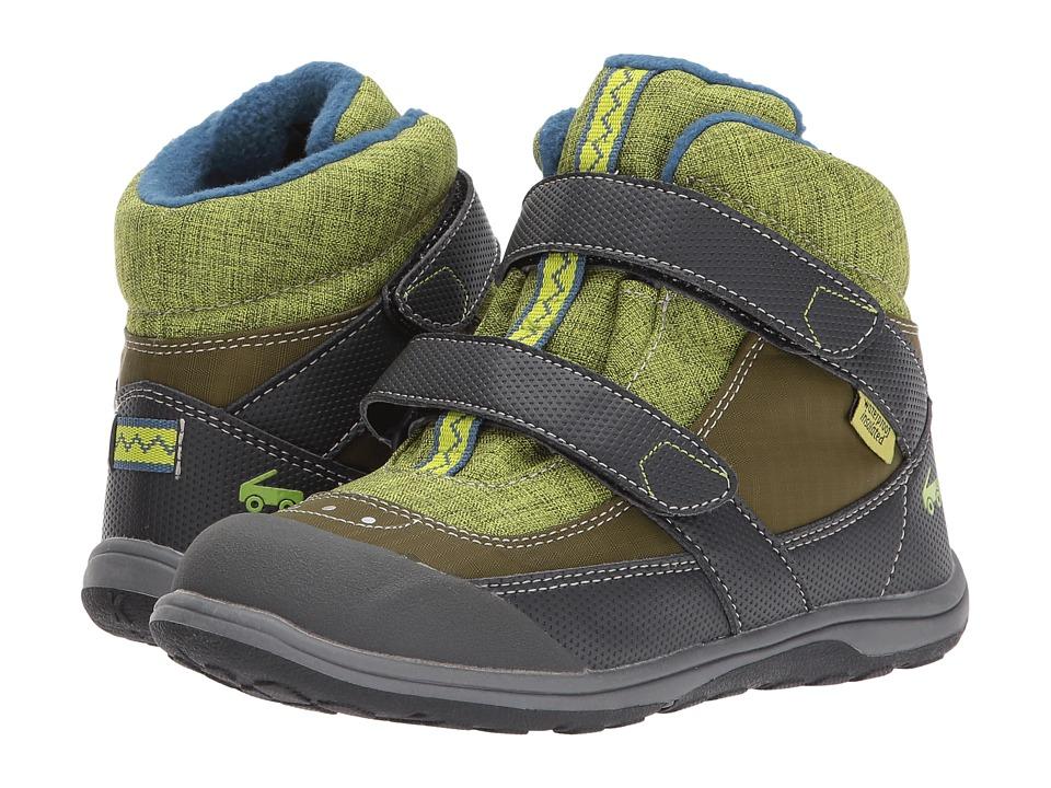 See Kai Run Kids Atlas WP/IN (Little Kid) (Green) Boy's Shoes
