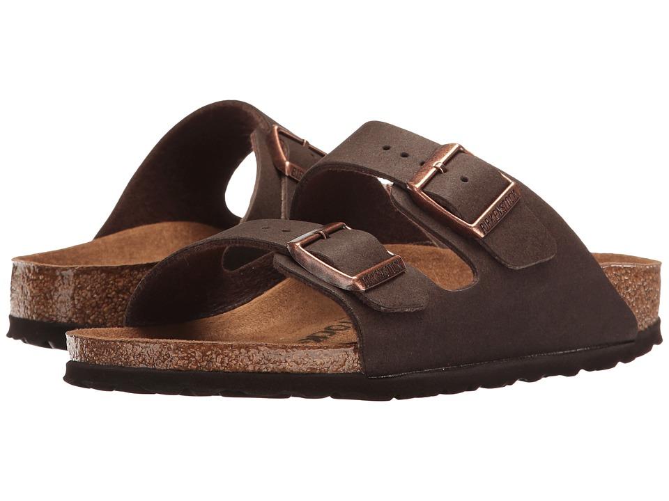 Birkenstock Arizona Vegan (Cacao Microfiber) Sandals