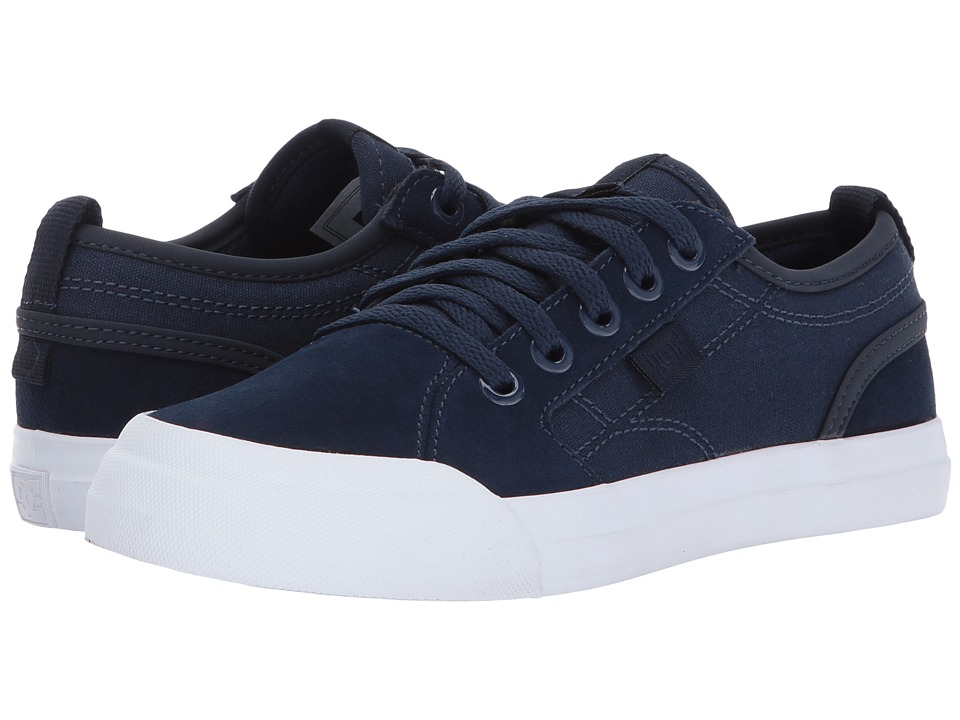 DC Kids Evan (Little Kid/Big Kid) (Navy) Boys Shoes