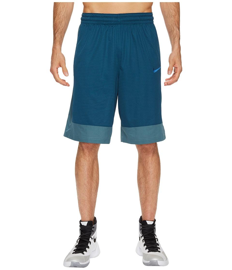 Nike Fastbreak Basketball Short (Space Blue/Iced Jade/Cool Grey) Men