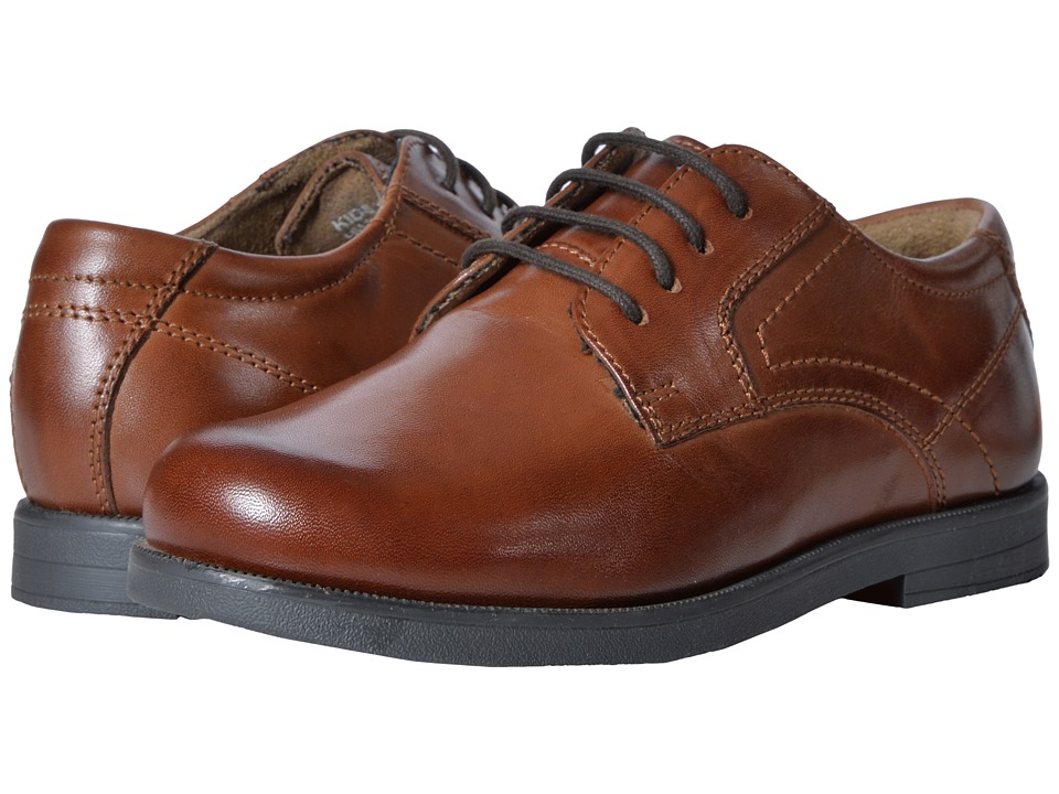 Florsheim Kids Midtown Plain Ox, Jr. (Toddler/Little Kid/Big Kid) (Cognac) Boys Shoes
