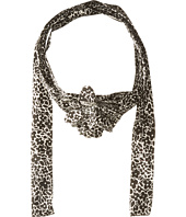 Betsey Johnson - Cartoon Floral Skinny Scarf