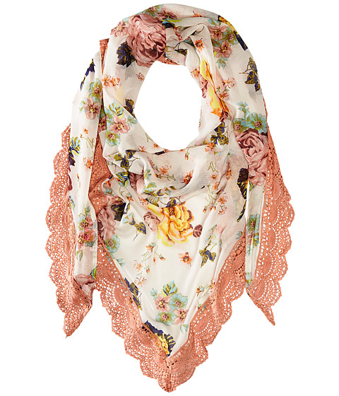 Betsey Johnson Gypsy Floral Triangle - Blush