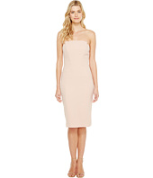 JILL JILL STUART - Strapless Knee Length Fitted Crepy Dress