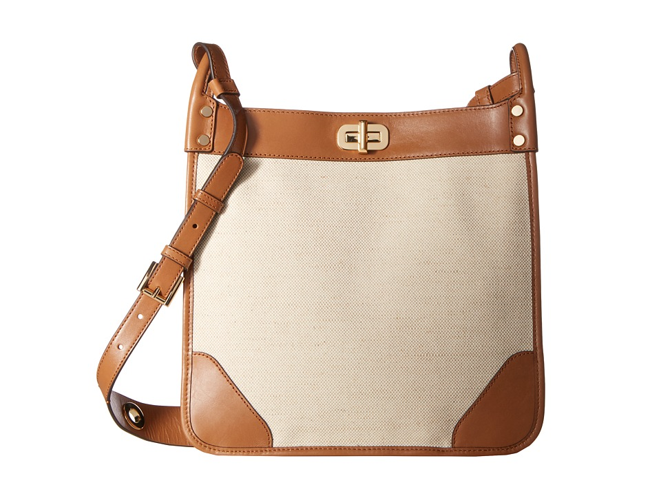 MICHAEL Michael Kors Sullivan Large North/South Messenger (Natural) Messenger Bags