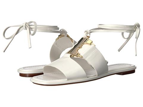 Tory Burch Gemini Link Sandal - White