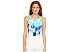 Calvin Klein - Sleeveless Printed Halter Top