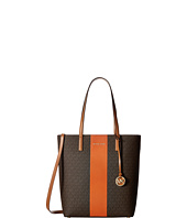 MICHAEL Michael Kors - Center Stripe Hayley Large North/South Top Zip Tote