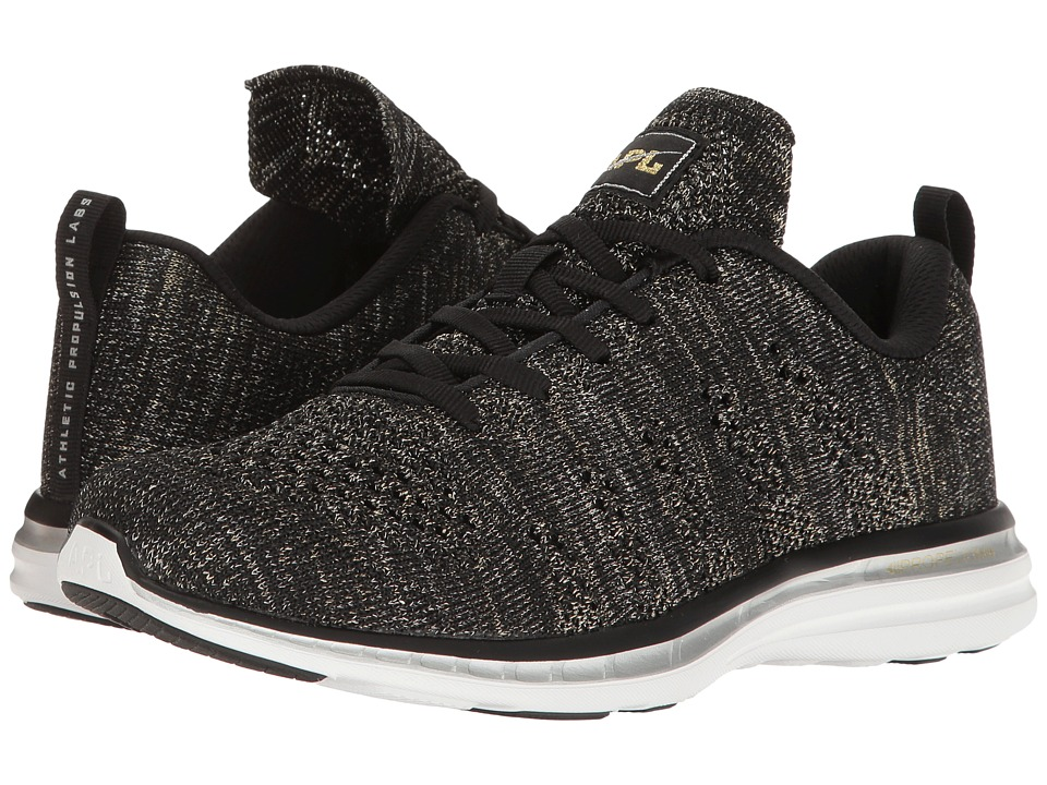Athletic Propulsion Labs (APL) Techloom Pro (Black/Gold/Silver) Women
