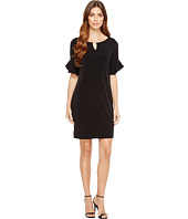 Calvin Klein - Ruffle Sleeve Dress with Hardware