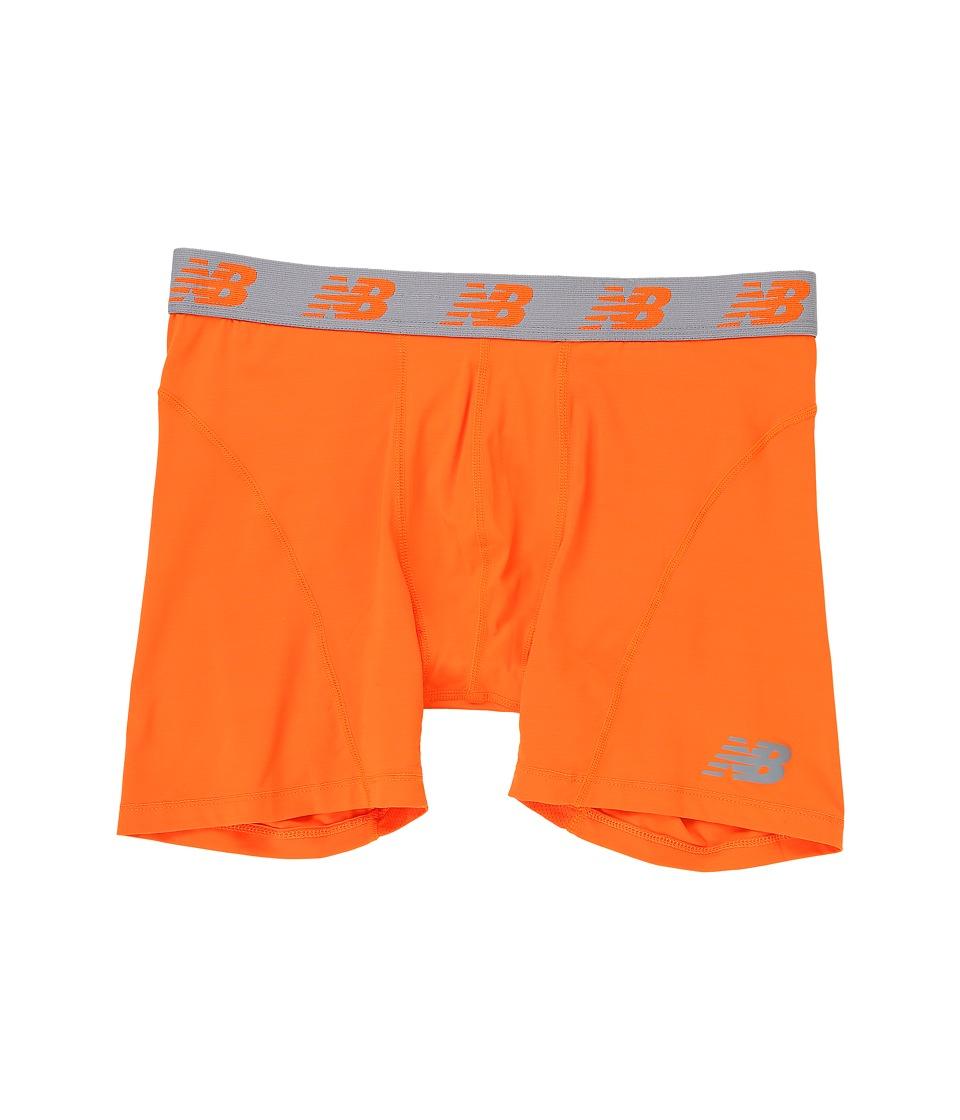 New Balance NB Ice 6 Boxer Brief (Lava Orange) Men