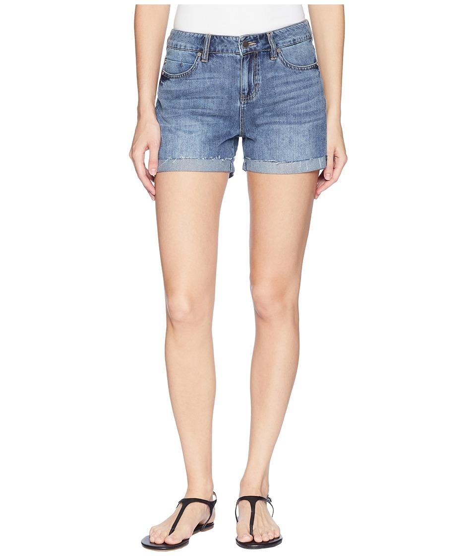 Liverpool - Bailey Bermuda Shorts on Soft Rigid Denim in Bellevue Vintage Medium (Bellevue Vintage Medium) Womens Shorts