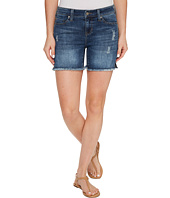 Liverpool - Vickie Shorts Frayed in Vintage Super Comfort Stretch Denim in Ridgecrest Destruct